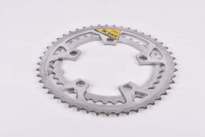 Shimano Biopace Steel Chainring Set 48 / 38 teeth with 110 BCD from the 1980s