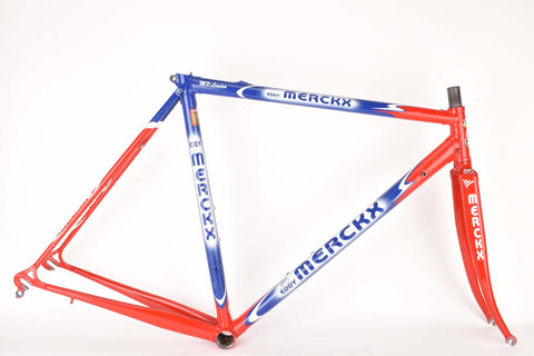 Eddy Merckx MX-Leader frame set in 53.5 cm (c-t) / 51.5 cm (c-c) from the mid 1990s - defective