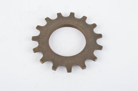 NOS Everest Super Caimi top sprocket, threaded on inside, with 15 teeth