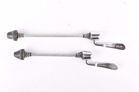 Shimano 105 #1050  quick release set, front and rear Skewer from the 1980s