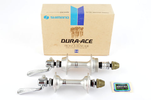 NEW Shimano Dura Ace 7100 #HB-7110 low flange hubs with 36 holes from 1981 NOS/NIB