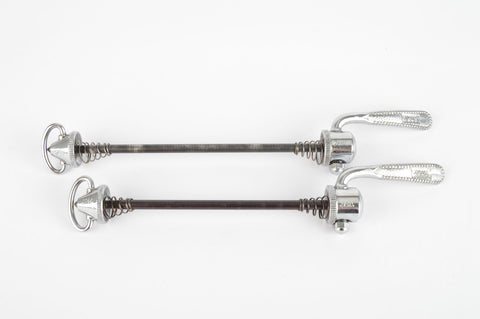 Zeus Gigante / Gran Sport quick release set, front and rear Skewer from the 1970s