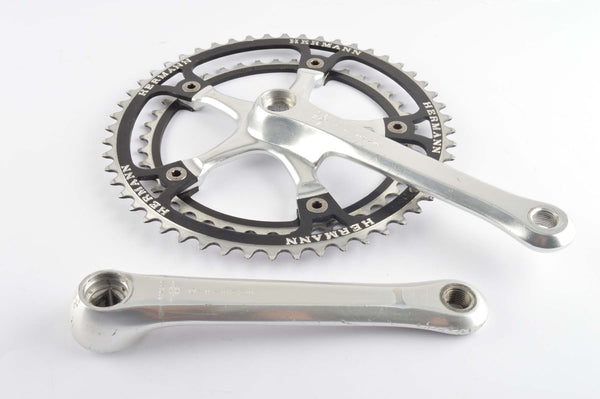 Gipiemme Crono Sprint #100 CC panto Hermann Crankset with 42/52 teeth and 170mm length from the 1980s