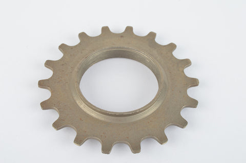 NOS Everest or Regina sprocket, threaded on in- and outside, with 18 teeth