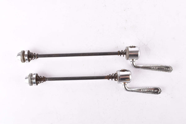 Ofmega quick release set, front and rear Skewer from the 1980s