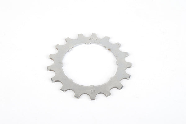 Zeus steel Freewheel Cog with 17 teeth from the 1980s