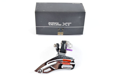 NEW Shimano Deore XT #FD-M737 top pull clamp-on front derailleur from 1993 NOS/NIB