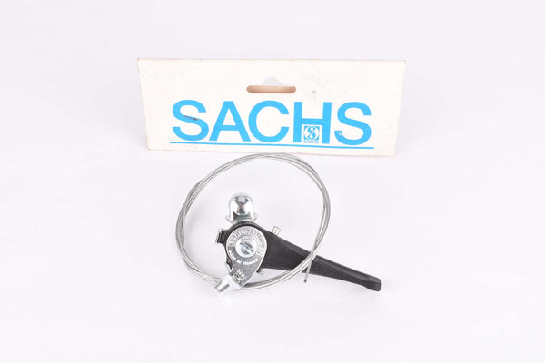 NOS Sachs Huret single clamp-on shifter incl. cable from the 1980s