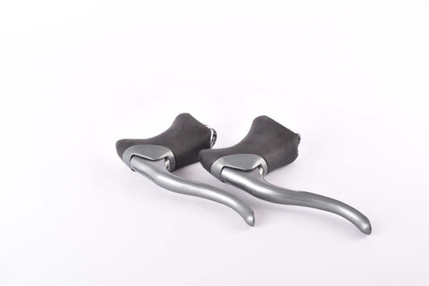 NOS Shimano 600 Ultegra #BL-6403 aero brake lever set with black hoods from 1993