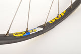 front Wheel with Mavic Reflex SUP Clincher Rim and Shimano Dura-Ace Hub #7400 from the 1980/90s