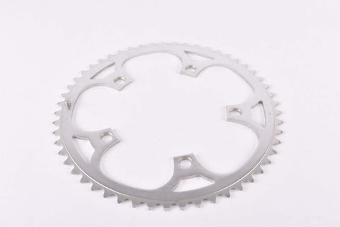 NOS Aluminium chainring with 53 teeth and 130 BCD