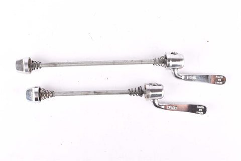 Campagnolo Athena quick release set, front and rear Skewer from 1997