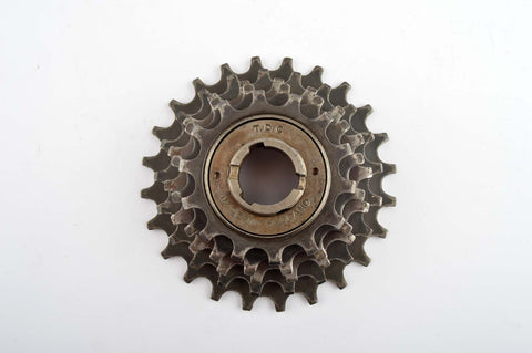 T.D.C. Made in England freewheel 5 speed with english treading from the 1970s