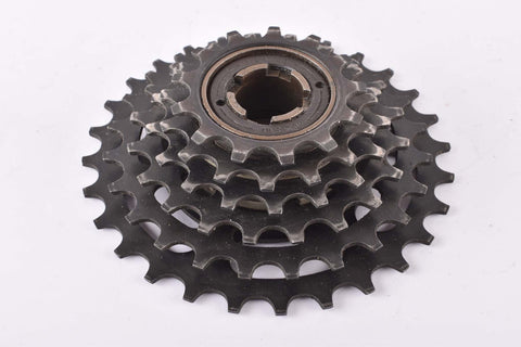 Suntour 8.8.8. 6 speed Freewheel with 13-28 teeth and english thread from 1990