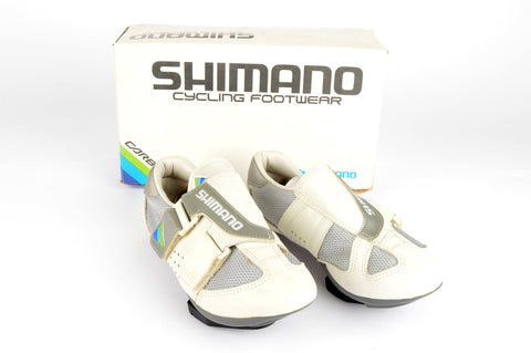 NEW Shimano Carbon #SH-R100 Cycle shoes with cleats in size 37 NOS/NIB