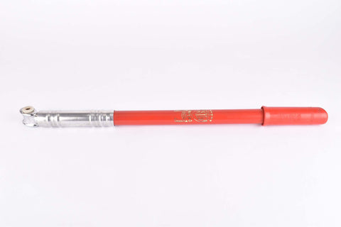 NOS Silca Impero red bike pump in 430-470mm from the 1970s / 1980s