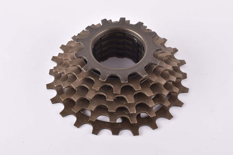 NOS Shimano UG 6-speed cassette with 13-24 teeth from 1988