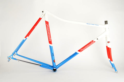 Panasonic Team Time Trail frame in 56 cm (c-t) / 54.5 cm (c-c), with Tange 2 tubing