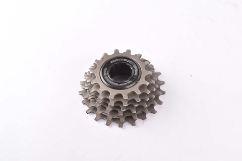 Shimano 600 EX #MF-6208 6 speed freewheel with 14-22 teeth an englisch thread from the 1980s