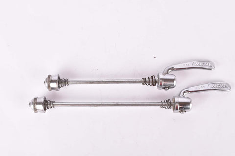 Miche quick release set, front and rear Skewer from the 1980s