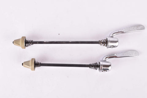 Shimano 105 SC quick release set, front and rear Skewer from the 1990s