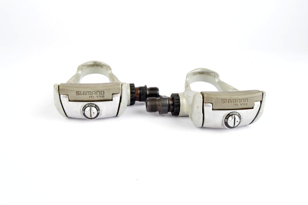 Shimano 105 #PD-1056 Clipless Pedals with english threading from the 1990s