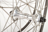 Wheelset with Mavic Open Pro 4CD Clincher Rims and Campagnolo Croce D'Aune Hubs from 1980s