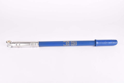 NOS Silca Impero blue bike pump in 450-490mm from the 1970s / 1980s