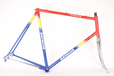 Batavus Professional frame set in 61.0 cm (c-t) / 59.5 cm (c-c) with Columbus SL tubing, from the mid 1980s