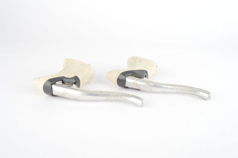 Shimano Exage Motion #BL-A251 brake lever set with white hoods from the 1990s