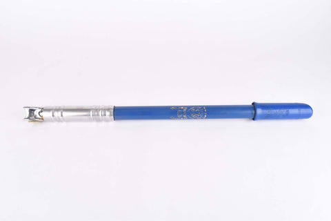 NOS Silca Impero blue bike pump in 430-470mm from the 1970s / 1980s