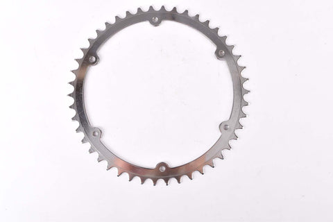 NOS 6 pin steel Chainring 46 teeth and 156 mm BCD from 1970s
