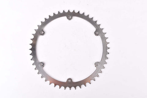 NOS 6 pin steel Chainring 48 teeth and 156 mm BCD from 1970s