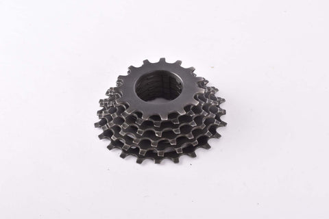 Shimano 6-speed Uniglide cassette with 15-24 teeth from the 1980s