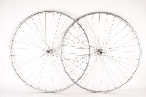 "28"" (700C) Wheelset with Delta Strada XL Chromium Tubular Rims and Campagnolo Nuovo Tipo (Nuovo Gran Sport) #1251 Hubs"