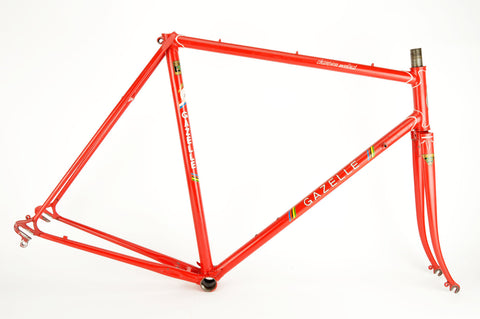 Gazelle Champion Mondial A frame in 58 cm (c-t) / 56.5 cm (c-c) with Reynolds 531 tubes