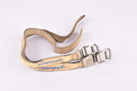 Campagnolo Chorus / Athena leather pedal toe clip strap from the 1980s - 1990s