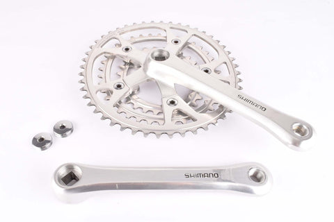Shimano 600EX #FC-6206 triple Crankset with 28/38/48 Teeth and 170 length from 1986