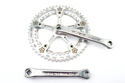 Campagnolo Record #1049 panto Olmo crankset with 42/53 teeth and 170 length from 1977