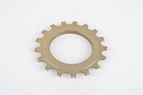 NOS Sachs Maillard #DY steel Freewheel Cog, threaded on inside, with 17 teeth from the 1980s - 90s