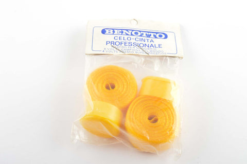 New Benotto Celo-Cinta Professinale handlebar tape yellow from the 1970s - 80s NOS/NIB