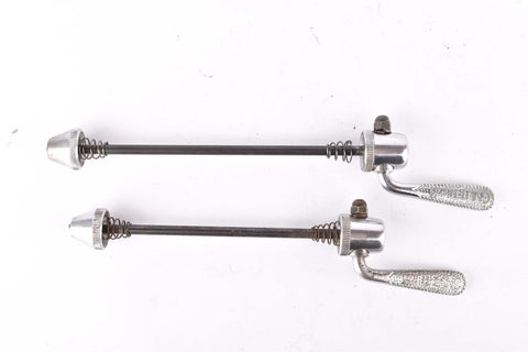 Gnutti quick release set, front and rear Skewer from the 1950s - 60s