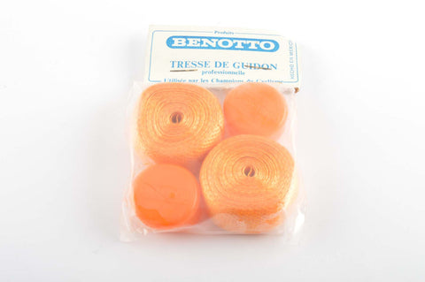 New Benotto Guidon Professionnelle handlebar tape orange from the 1970s - 80s NOS/NIB