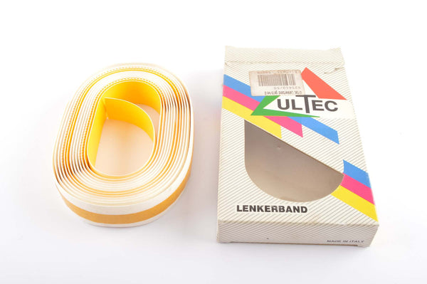 NEW Ultec handlebar tape yellow/white from the 1990s NOS/NIB