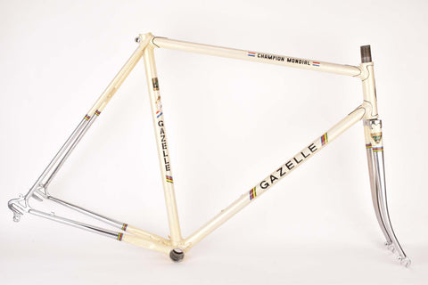 Gazelle Champion Mondial (AE.2 / A-Frame) frame set in 56.5 cm (c-t) / 55.0 cm (c-c) with Reynolds 531 tubing from the 1970s