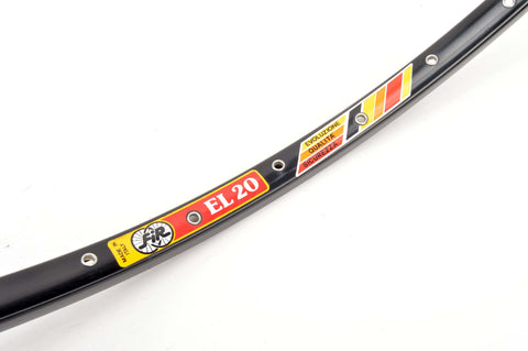 NEW FIR EL20 Clincher single Rim 700c/622mm with 36 holes from the 1980s NOS