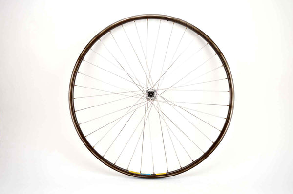 front Wheel with Mavic Open 4 CD clincher rim and Shimano Dura-Ace hub #7400 from the 1990s