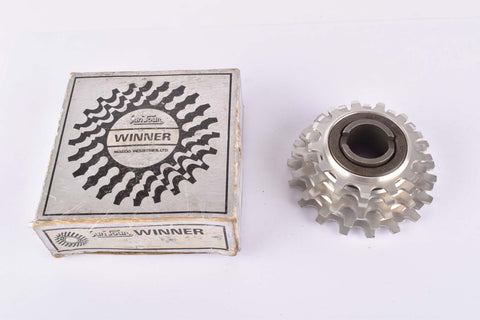 NOS/NIB Suntour Winner #1110 5-speed aluminum alloy Freewheel with 13-18 teeth and english thread (BSA) from 1973 - extra light