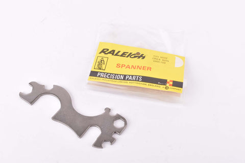 NOS Raleigh Spanner #GMM.108 Precision Multitool Wrench for most cycle nuts