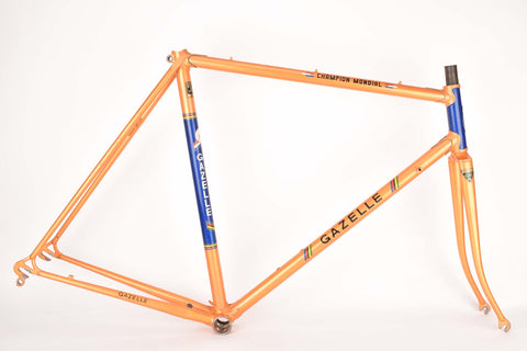 Gazelle Champion Mondial (AA-Frame) frame set in 57.0 cm (c-t) / 55.0 cm (c-c) with Reynolds 531 tubing from the 1970s